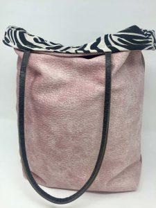 Cebra Forro Rosa Reversible