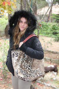 Verde Leopardo Mujer